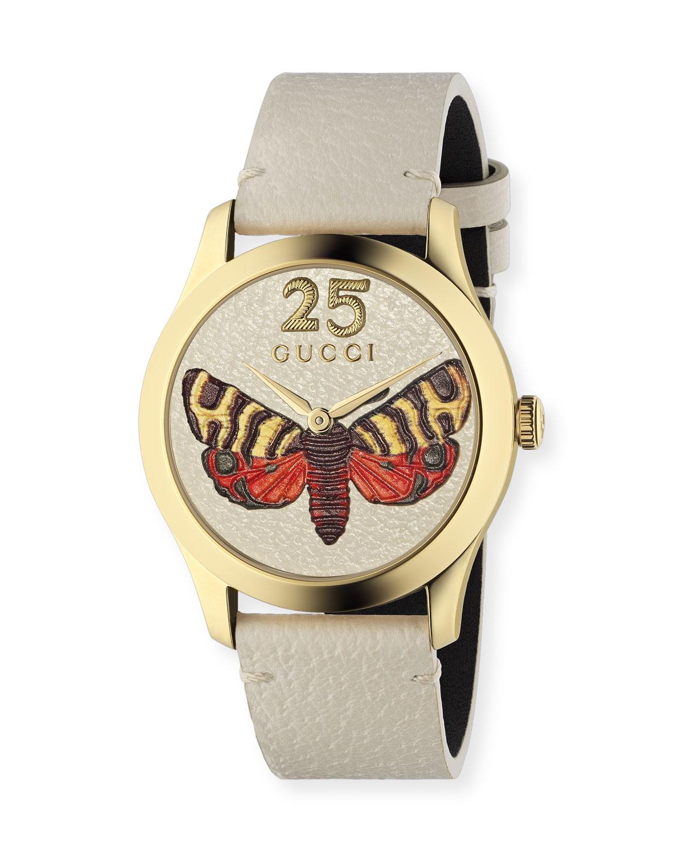 b00f579690b Gucci 38mm G-Timeless Butterfly Watch