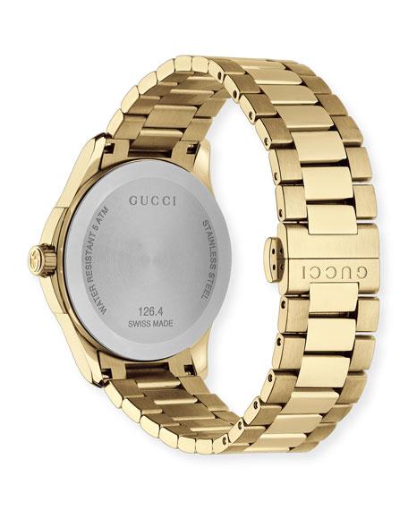 G-Timeless Bracelet Watch, Yellow Golden