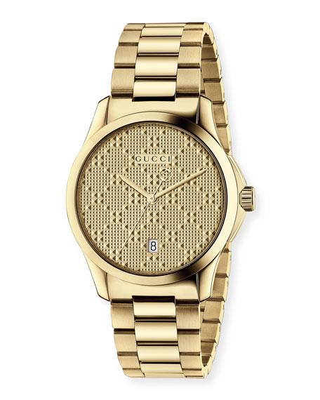 G Timeless Bracelet Watch, Yellow Golden by Gucci