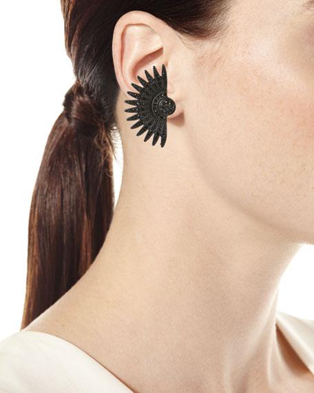 Beacon Crystal Stud Earrings