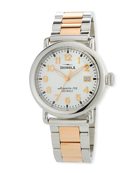 36mm The Runwell Two-Tone Bracelet Watch