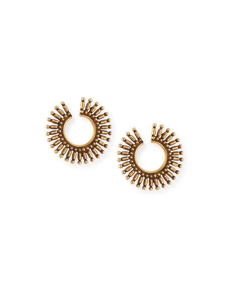 Auden Valeria Hoop Earrings