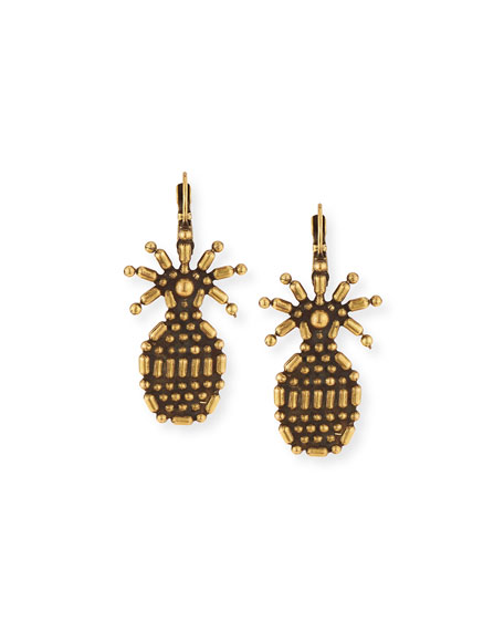 AUDEN PINEAPPLE DROP EARRINGS