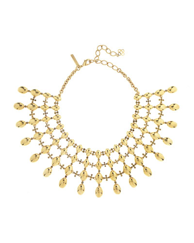 Dot Statement Necklace
