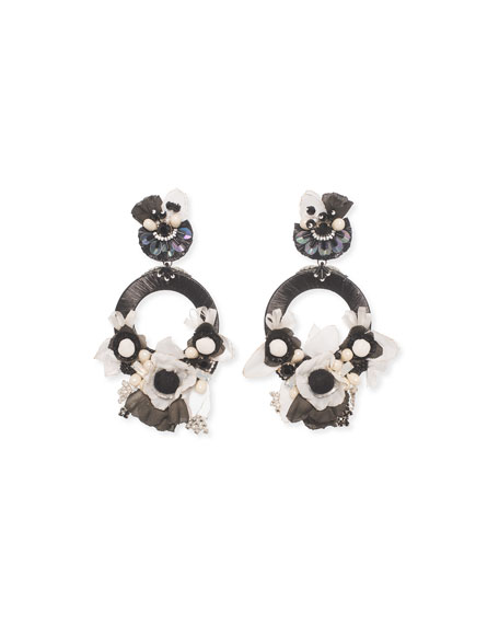 Jarita Clip-On Statement Earrings