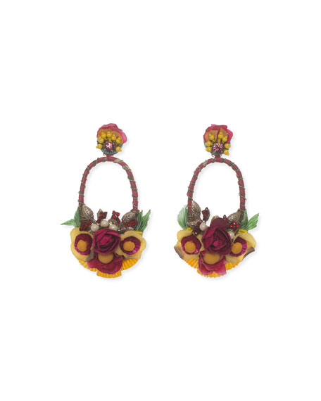 Ranjana Khan Luscina-L Drop Earrings FKvJpeiSVL