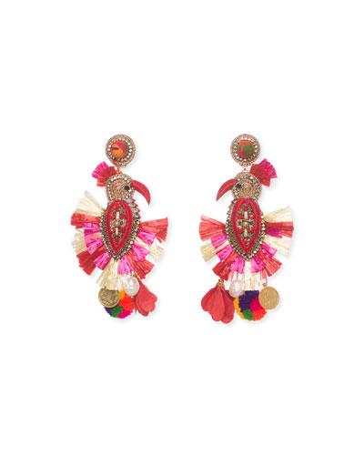 Phoenix Drop Earrings