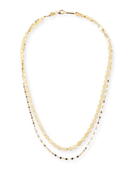 14k Duo Nude Blake Necklace