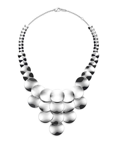 Ippolita 925 Classico Wavy Disc Statement Necklace py4EbV8
