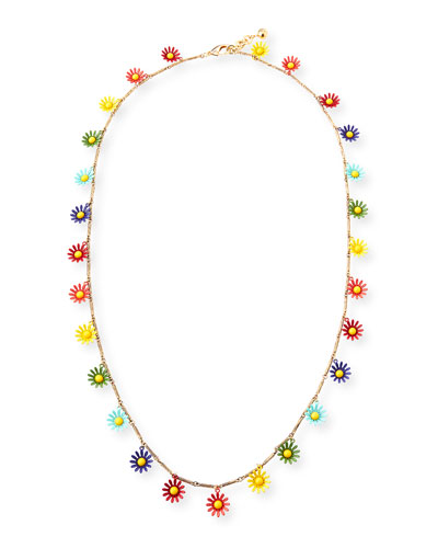 Moorea Messenger Daisy Necklace