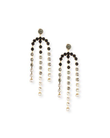 Lulu Frost Rainbow Statement Earrings