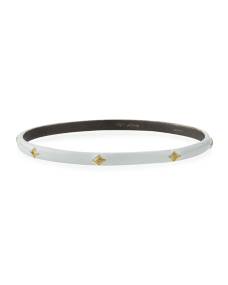 Armenta Old World Thin Diamond Crivelli Bangle