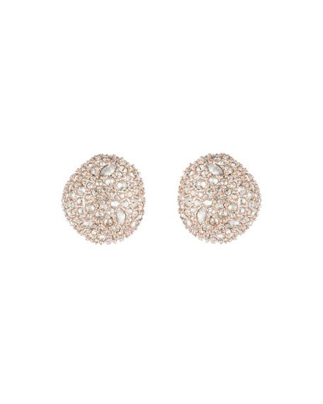 Alexis Bittar Crystal Encrusted Pod Post Earrings