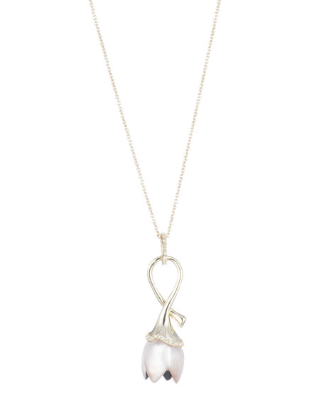 Alexis Bittar Tulip Long Pendant Necklace