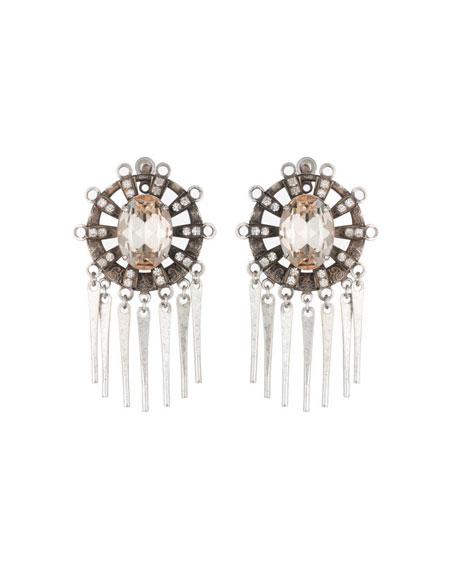 Dannijo Lennyn Crystal Dangle Earrings EgJ8r