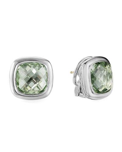Albion Prasiolite Stud Earrings