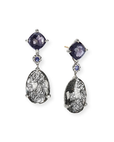 Chatelaine Triple Drop Earrings