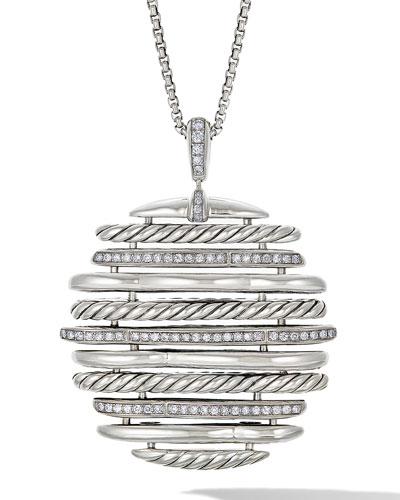Tides Diamond Pendant Necklace