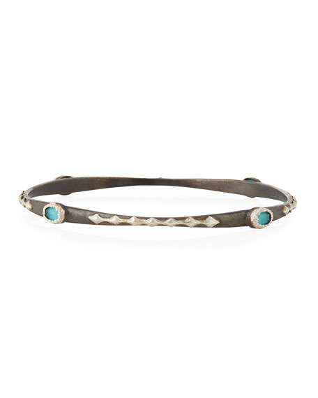 Armenta New World Crivelli & Doublet Bangle Bracelet