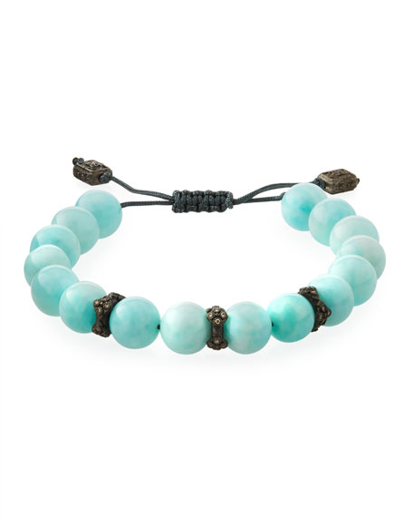 Armenta New World Corded Amazonite Bracelet