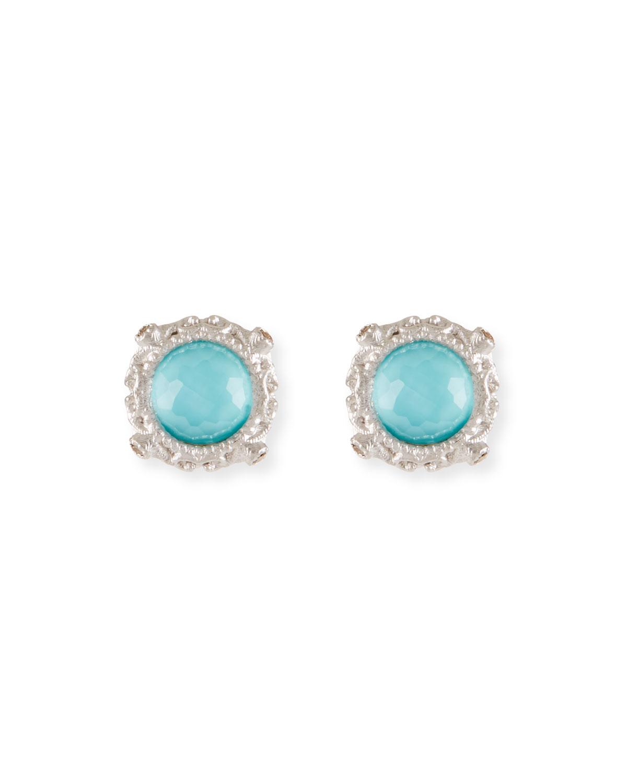 Armenta New World Round Doublet Stud Earrings JkrdO