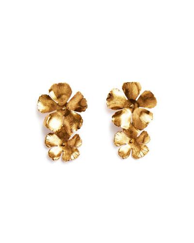 Chloe Statement Flower Earrings