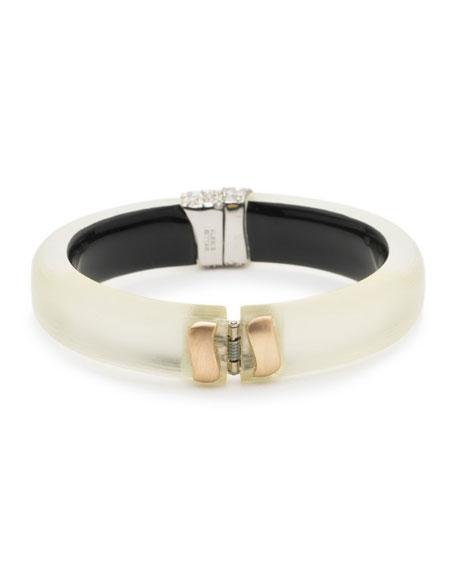 Crystal Encrusted Roxbury Cluster Bracelet