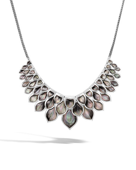 Legends Naga Mother-of-Pearl Layered Bib Necklace
