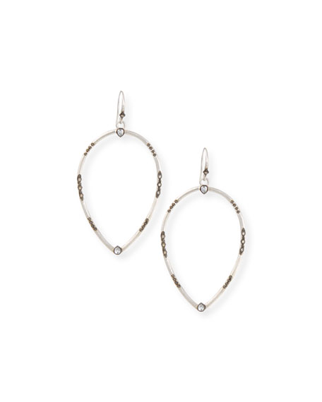 Armenta New World Open Pear Drop Earrings