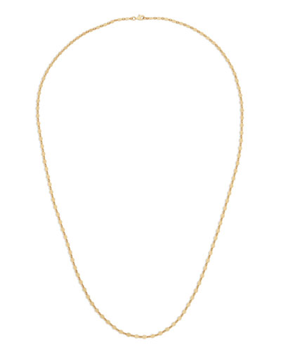 14k Long Kite Necklace, 30
