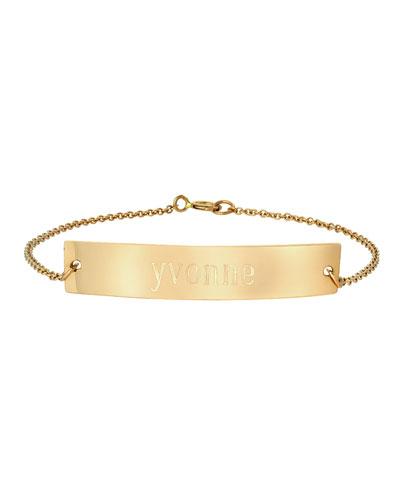 Personalized Nameplate Bracelet