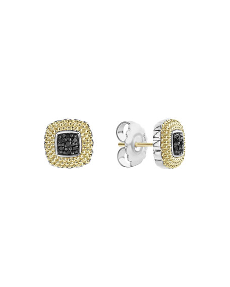 Lagos 11mm Lux Diamond Stud Earrings