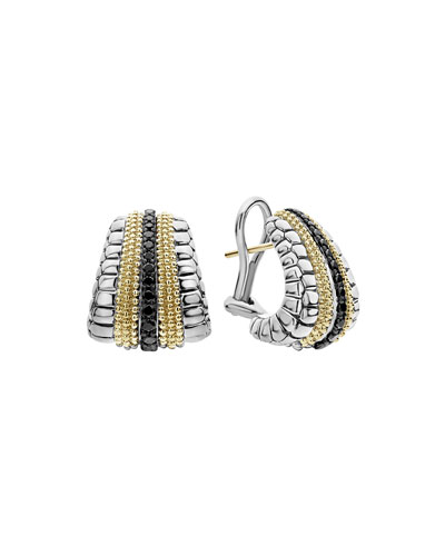 Lux Large Earrings with Diamonds