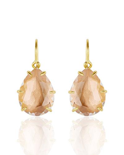 Caterina One-Drop Earrings, Bellini