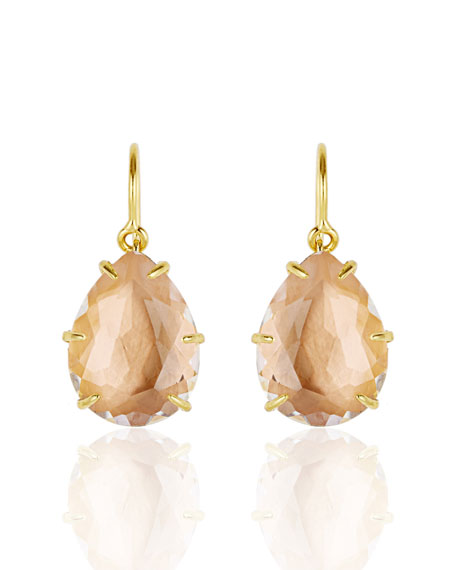 Larkspur & Hawk Caterina One-Drop Earrings, Bellini