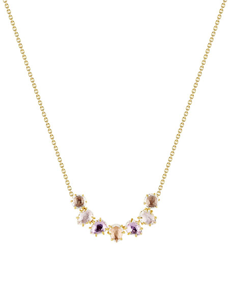Larkspur & Hawk Caterina Garland Necklace, Bellini