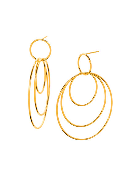 gorjana Wilshire Concentric Hoop Earrings