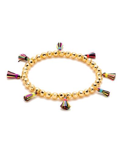 Havana Tassel Bracelet