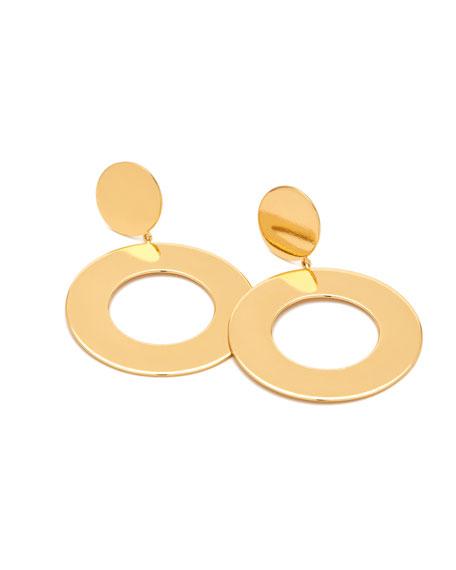 Jagger Cutout Circle-Drop Earrings