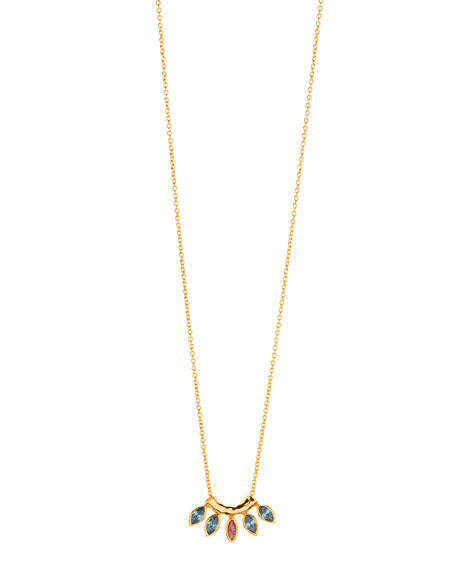 gorjana Rumi Burst Adjustable Necklace