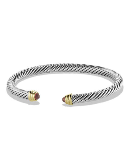 David Yurman Cable Classics Bracelet w/ 14k Gold