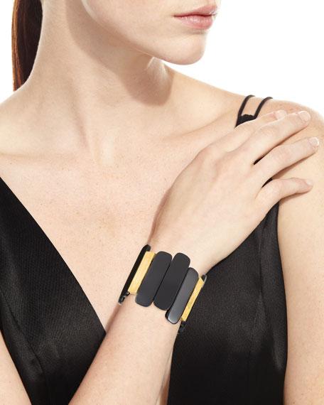 Two-Tone Stretch Bracelet