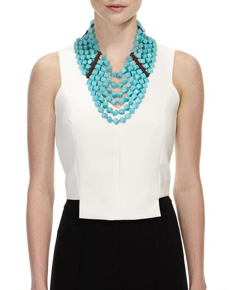 Turquoise Drape Necklace