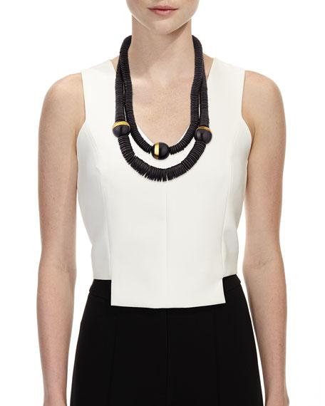 Double-Strand Puka Shell Necklace