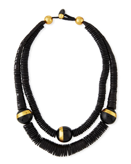 Double-Strand Puka Shell Necklace