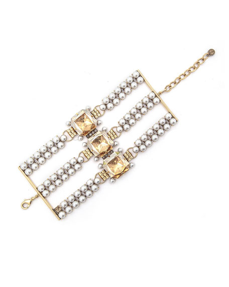 Dylanlex Kobee Triple-Strand Bracelet