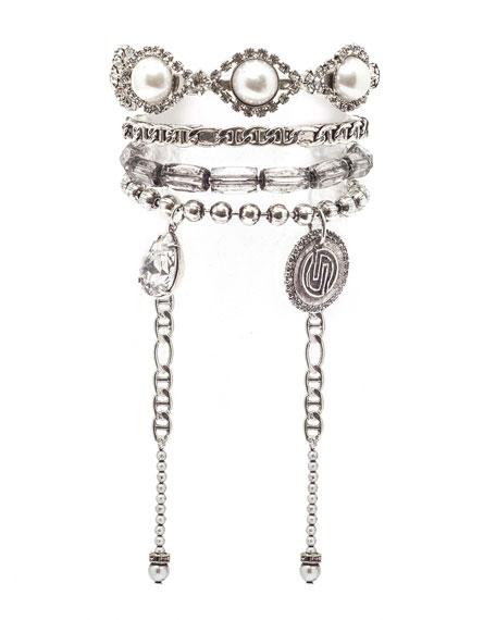Bella Cuff Bracelet w/ Dangles