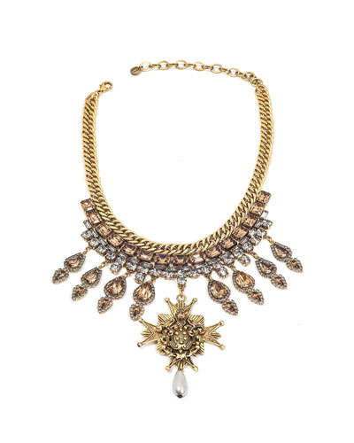 Smith Statement Necklace w/ Dangles