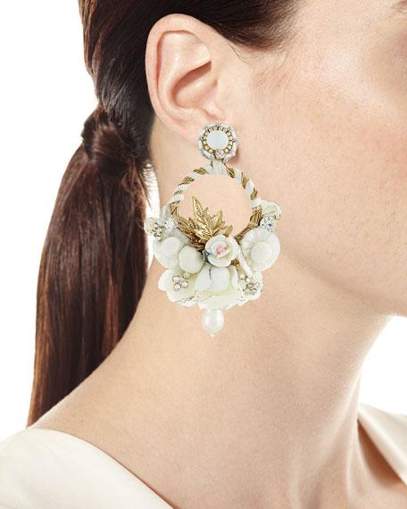 Yvonne Clip-On Chandelier Earrings