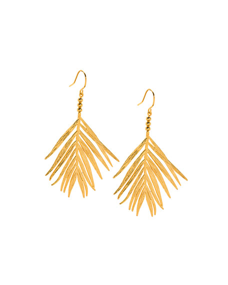 PALM DROP EARRINGS